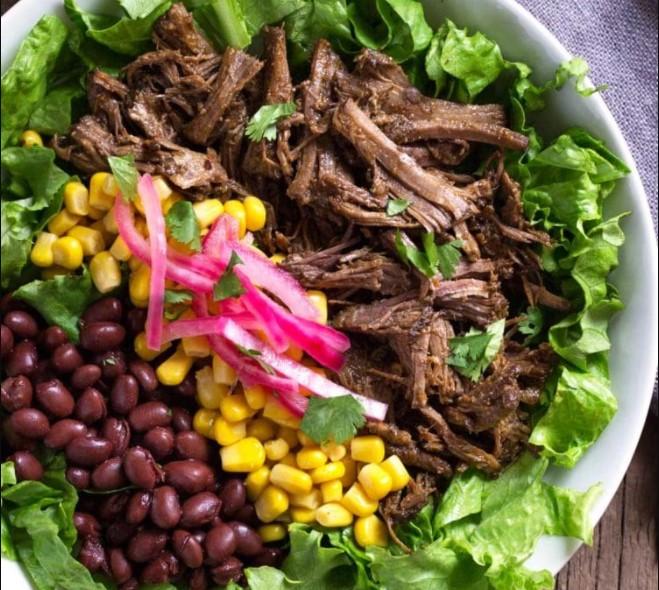 Add other ingredients to Smoked teriyaki beef jerky