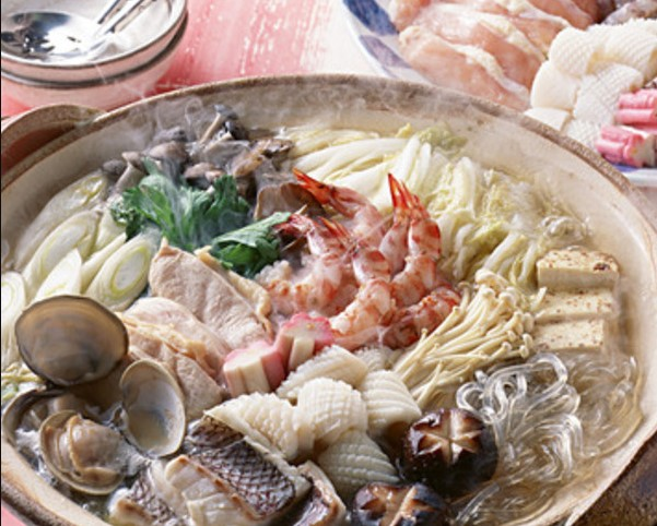 Add sesame oil or butter to Chanko nabe
