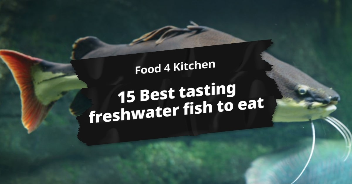 15 Best tasting freshwater fish to eat - Food 4 Kitchen