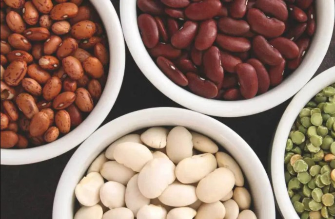Beans contain a lot of calories