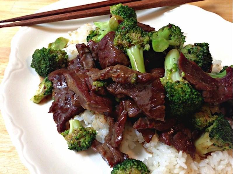 Broccoli Beef at Panda Express