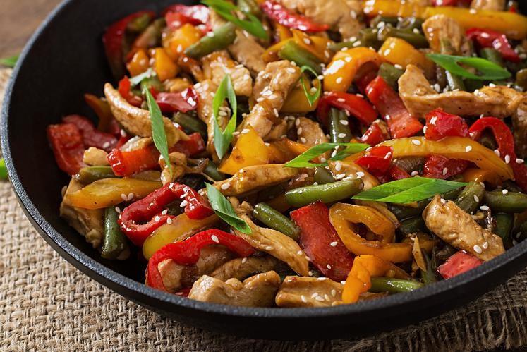 Chicken Sesame Stir Fry