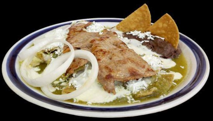 Chilaquiles con carne asada is nutritious food
