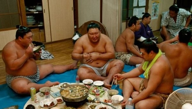 Diet for Sumo Wrestlers