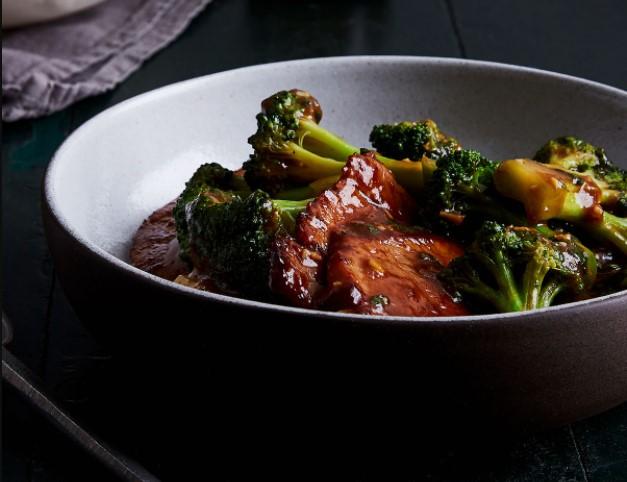 Fried Pork chop & Steamed Vegetables