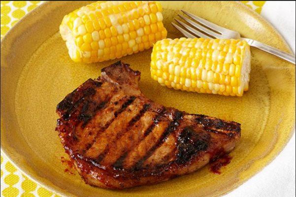 Fried Porkchop & Corn on the cob