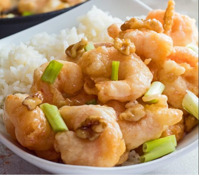 Honey Walnut Shrimp at Panda Express