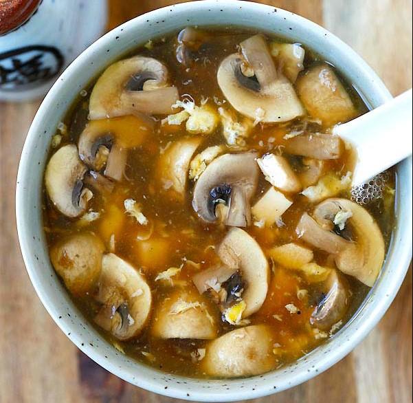 Hot & Sour Soup at Panda Express