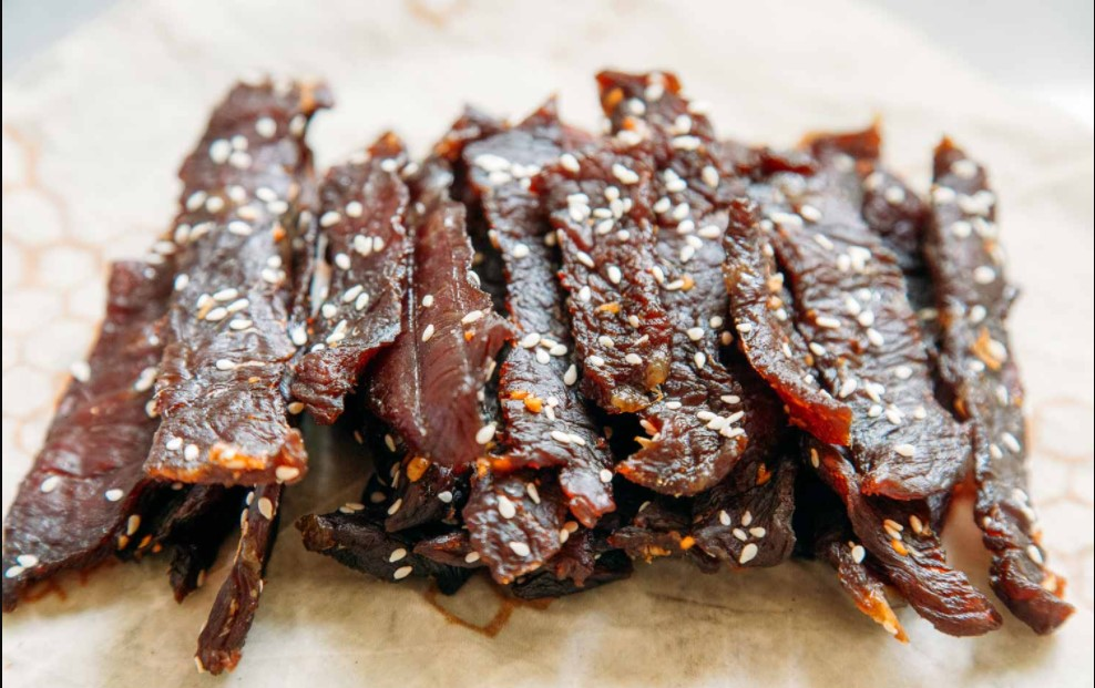 Ingredients for air fryer beef jerky