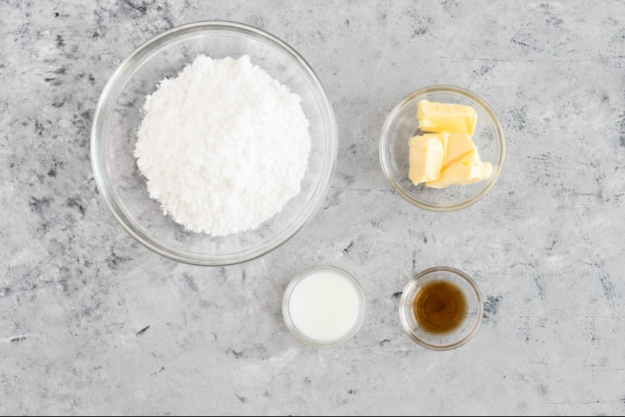 Ingredients for the Glaze