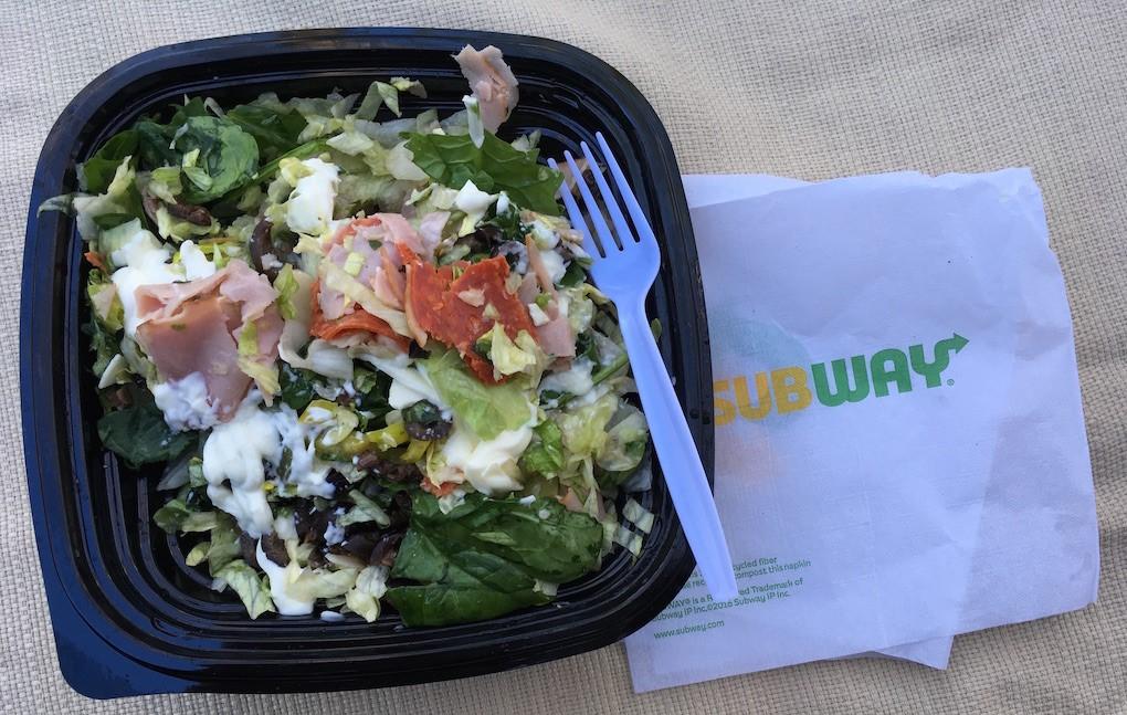 Lowest Calorie Subway Salads