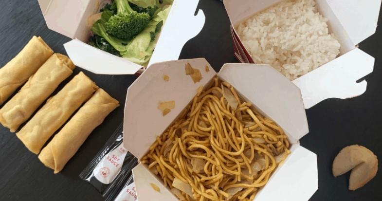 Order vegan options at Panda Express