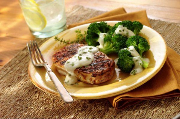 Pork chops & Broccoli