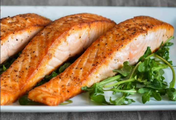 Salmon is very good for the body