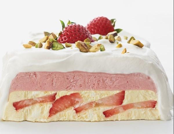 Semifreddo whipped cream