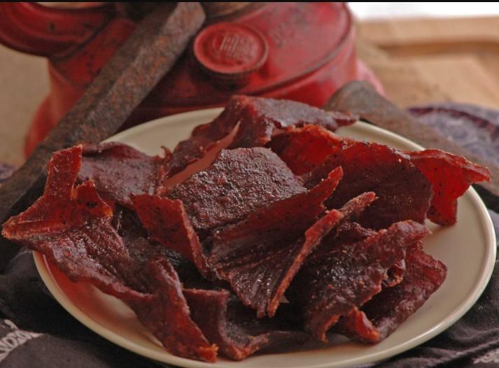 Smoked teriyaki beef jerky recipe