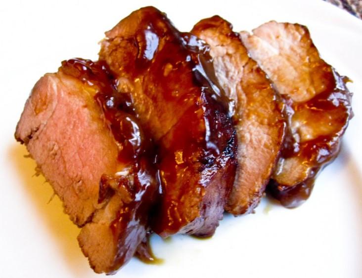 Teriyaki pork in slow cooker