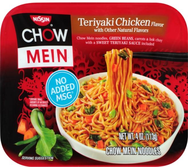 Teriyaki sauce vs noodles