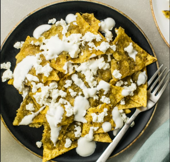 Chilaquiles have moderate calories