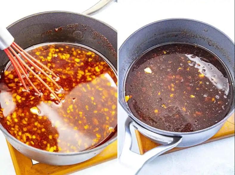 make Homemade Teriyaki Sauce spicy