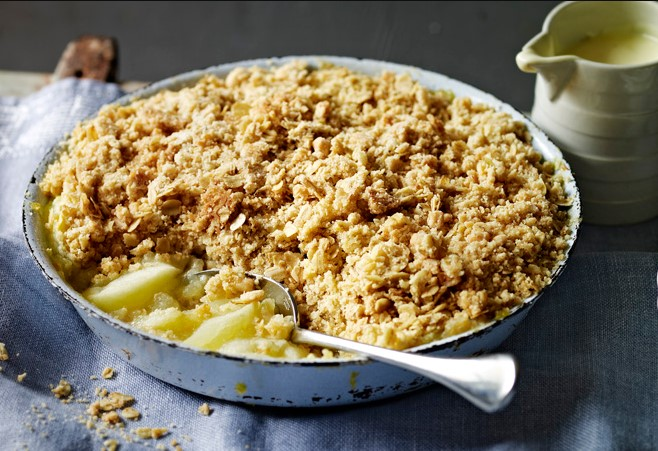 Apple and Oat Crumble