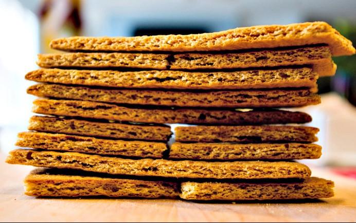 Diet honey graham crackers