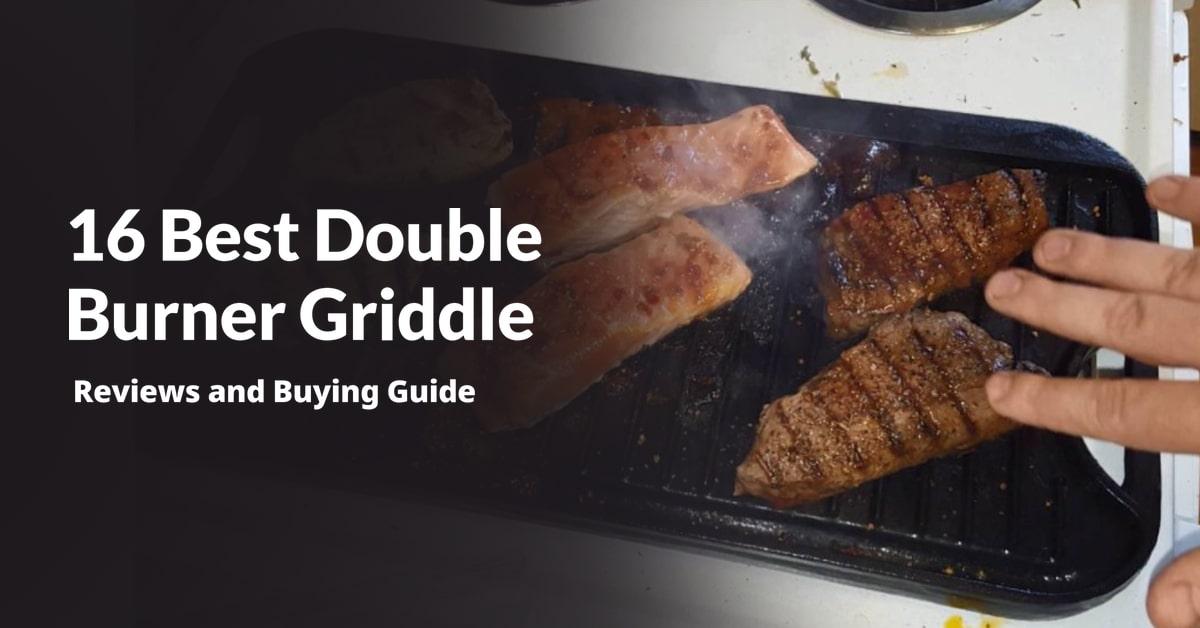 Double Burner Griddle
