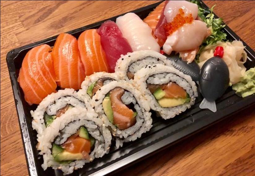 Food at Bamboo Sushi