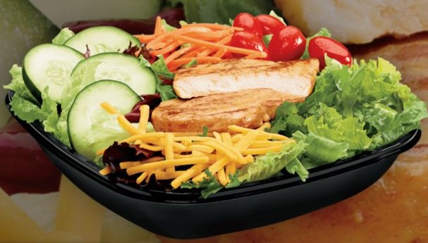 Garden Salad at Jack in the box