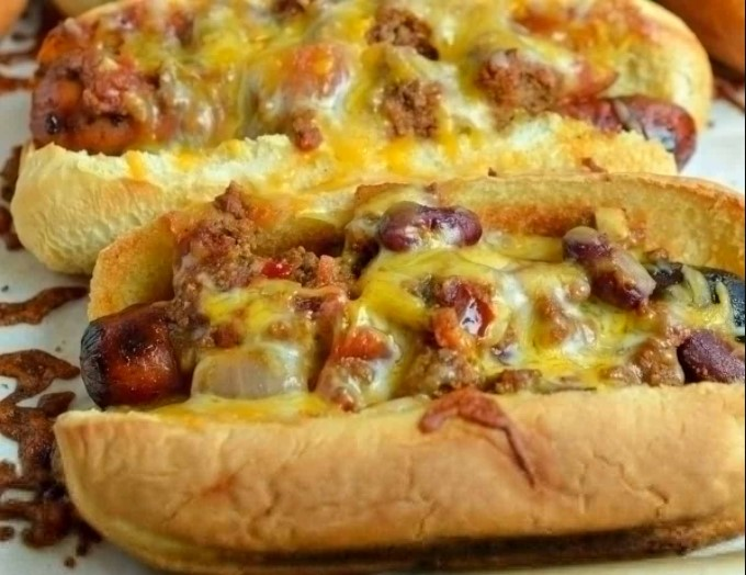Hot Dogs and Cheese