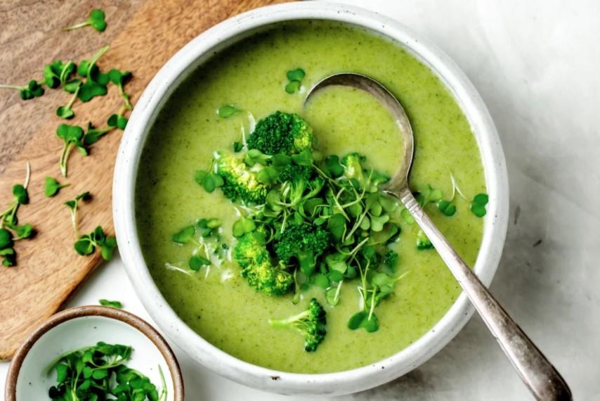 Quiere Vegan Broccoli Soup