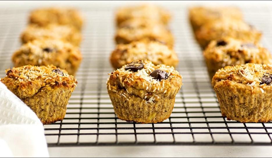Quinoa-Chia Banana Muffins