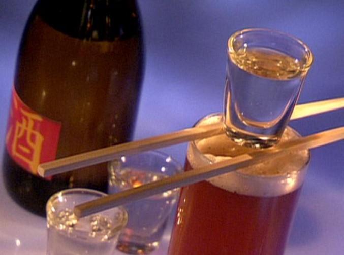 Sake Bomb Cocktail
