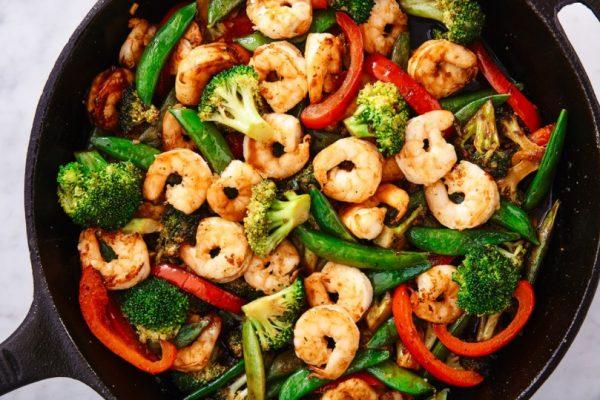 Stir-fried Shrimp