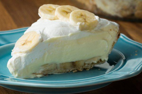 Vegetarian Banana Cream Pie