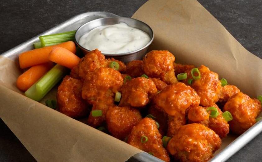 Vegetarians can eat at Buffalo Wild Wings