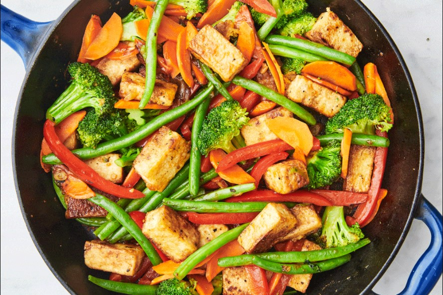 Veggie Tofu