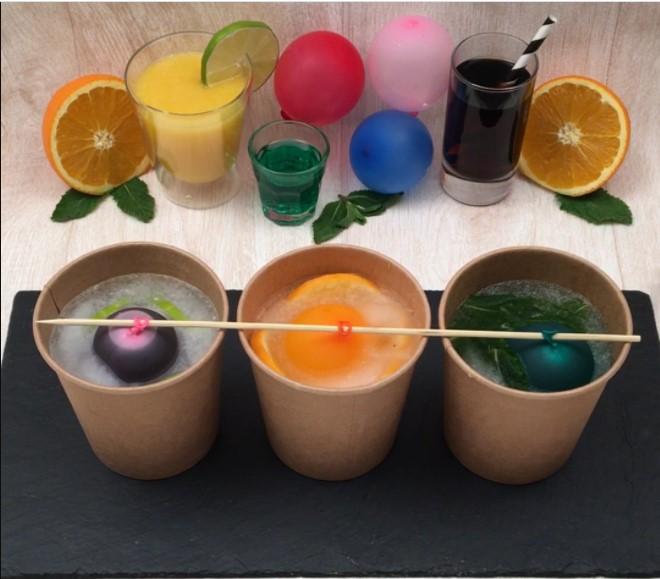 Xploding cocktail