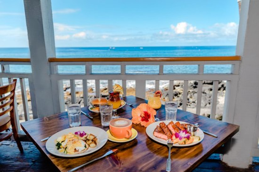 Places to eat in Kona Hawaii
