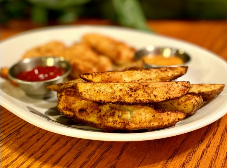 Instructions for Air Fryer Potato Wedges Recipe